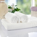 Hotel towels with custom logo, vagarious designs, OEM/ODM orders are welcome