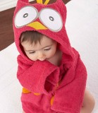 hooded baby bath towel, cotton material