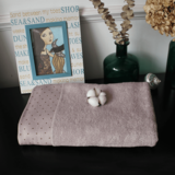 Dobby satin beach towel bath mat sheet